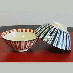 BESTJAPAN | Kiyomizu-Yaki Gohancyawan /rice bowl /Mugiwarate (Pair) Elegant shapes, graceful design, and pure, intense colors – these are the qualities that have drawn generation after generation to Kyoto's Kiyomizu yaki ceramic ware. Rice Bowls, Kyoto, Decorative Bowls, Shapes, Japanese, Ceramics, Pure Products, Traditional, Elegant