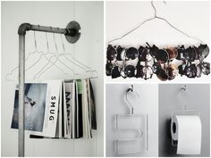 #organizing #storage #hangers via HOMESICK.nu