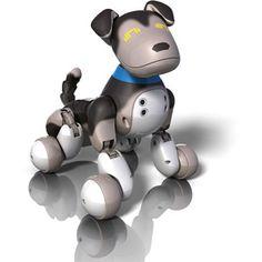 Hayden Zoomer Interactive Puppy, Shadow