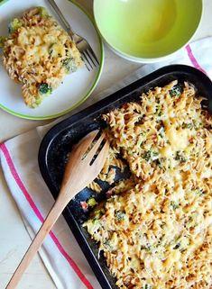 Krémový kuskus s brokolicou Prosciutto, Gnocchi, Quinoa, Macaroni And Cheese, Healthy Recipes, Healthy Food, Pizza, Lunch, Ethnic Recipes