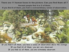 Optical Illusions Hidden Picture In | Optical Illusions Hidden Faces I found 11
