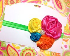 This section of our blog is designated for showcasing hair-bow and hair-clip projects and instructions! Grab your ribbon and clips and pull up a chair...
