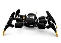 Norio Fujikawa spider Robot called Kanibot...spy camera spider
