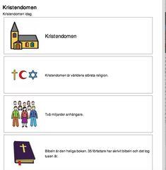 Vi arbetar med olika religioner i skolan. Här finns ett bildstöd att ta del utav. För att skriva ut materialet klicka på länkarna här: Buddhismen Fakta om Hinduismen Fakta om Islam Fak…