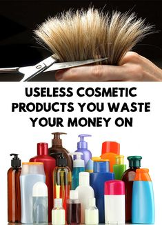 It's amazing how much money women are willing to spend on cosmetic products. Find out Useless Cosmetic Products You Waste Your Money On!
