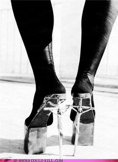 Jesus, my feet are killing me...