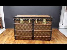 Louis Vuitton Trunk Stencil canvas www.la-malle-en-coin.com https://youtu.be/_JBgvdJ5JRo?list=UUgchi0OOHKuDl-RD0oixUFw