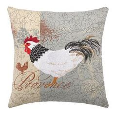Invite fresh spring flair into your home with this eye-catching pillow, adding a pop of style to your sofa, settee, or master bed.   Product: Pillow Construction Material: Linen mix cover and feather down fill Color: Gray and white