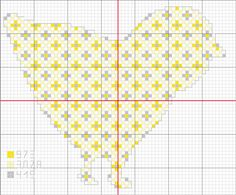 petit_poussin point de croix cross stitch