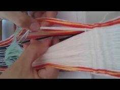Faja Tubular Mapuche, Tejiendo - YouTube Inkle Loom, Textiles, Clothes Hanger, Cheer Skirts, Youtube, Chile, Weaving Looms, Girdles, How To Knit