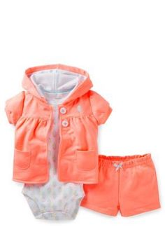 Baby Girl Clothes at Macy's come in a variety of styles and sizes. Shop Baby Girl Clothing at Macy's and find newborn girl clothes, toddler girl clothes, baby dresses and more. Outfits Niños, Kids Outfits, Little Girl Fashion, Kids Fashion, Toddler Fashion, Carters Baby Girl, Baby Girls, Toddler Girl Style, Toddler Girls