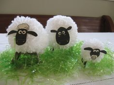 Vintage Violet Style: Shaun the Sheep Birthday Party (tutorial)