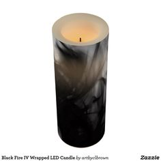 The Black Fire IV Wrapped LED Candle designed by Artist C.L. Brown features fire photography converted to black and white. These finishing touches to your décor are a quick and convenient way to transform plain, flameless candles into an eye-catching accent. The Black Fire IV LED Candle is the perfect way to dress up your home, get-togethers or events. Various sizes are available and have a timer option with a 24 hour cycle allowing the candle to stay on for 5 hours, then will automatically…