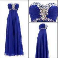 Royal blue prom Dress,Charming Prom Dress,Sweetheart prom dress,Chiffon prom dress,https://www.makerdress.com/products/copy-of-2016-evening-dress-purple-prom-dress-v-neck-prom-dress-charming-prom-dress-long-prom-dress-bd171-1