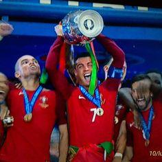 #happy #euro16 #portugal final match #tv #shot #history #event excellent goalkeeper RuiPatricio