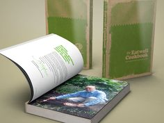 Book Design:The Eat Well Cookbook - Flink Creative