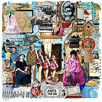 Not just another art journal entire kit