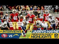 Jarryd Hayne 49ers vs Chargers highlights   2015 NFL Preseason Week 4 - Jarryd Hayne's four-game trial is done. His 49ers career surely is not, as he enhanced his star status in Thursday night's exhibition-season finale.