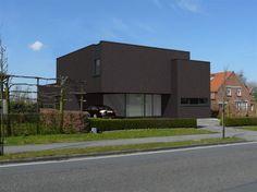 Moderne woning ontworpen door SV-architect.be te Genk (Limburg, België)