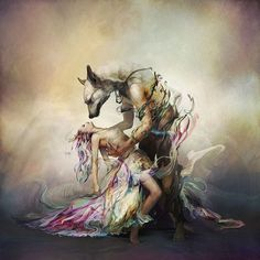 Totally amazing digital painting by Ryohei Hase