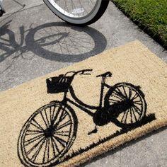 Bike Door Mat