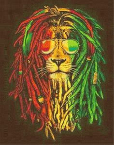 Image shared by Becas. Find images and videos about lion, rasta and reggae on We Heart It - the app to get lost in what you love. Rasta Art, Rasta Lion, Reggae Wallpaper, Lion Wallpaper, Frases Reggae, Reggae Mix, Comics Und Cartoons, Street Art, Lion Art