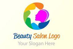 Beauty salon Logo by BdThemes on @creativemarket