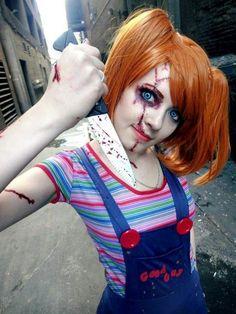 Chuckie cosplay