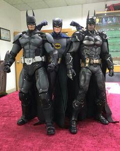 Arkham Knight Batman (on right) via NECA twitter page