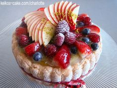 Chef Keiko's Fruits Charlotte cake looks beautiful and tastes great, too. You can make it!