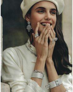 Blanca Padilla - @voguespain joyas by @gorkapostigo