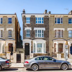 Contemporary Refurbishment of this period townhouse in Maida vale. 3 storey townhouse and basement