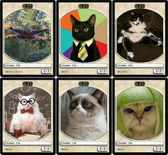 6x Cat Tokens (FUNNY ALTERNATE ART) Set of 6 Memes Magic the Gathering MTG Ajani | Efrain's Page