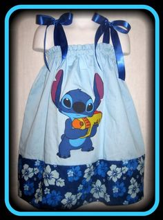 Disney Stitch Boutique Pillowcase Dress w/ by InlandSensations, $34.99