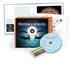All you'll need to create & use your own mandalas: illustrated workbook with exercises, meditations, stencils, more.