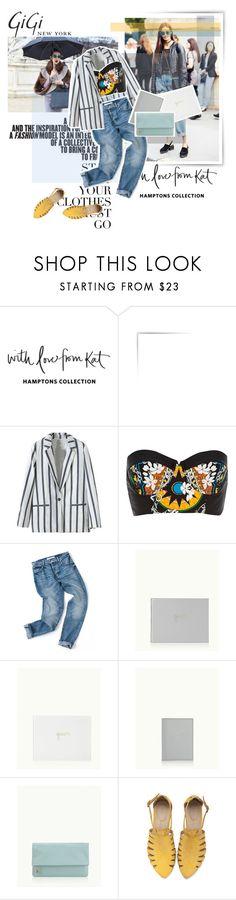 """GiGi NEW YORK"" by victori-a ❤ liked on Polyvore featuring GiGi New York, Karl Lagerfeld, River Island and Giginewyork"