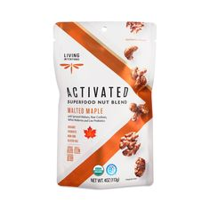 Your taste buds will go nuts for these trail mix cluster bites made with organic cacao, almonds, raisins, blueberries and coconut. Live Probiotics, Raw Cashews, Almonds, Seeds Online, Healthy Groceries, Packaging Design Inspiration, Taste Buds, Raisin, Superfood