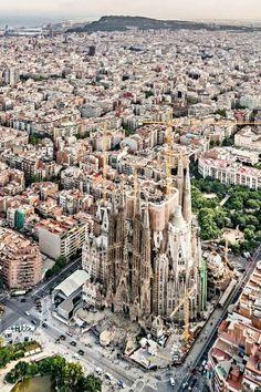 Barcelona, Spain: Celebrating a beloved architect all year. / #29 on @nytimes's list of 52 Places to Go in 2016 (Photo: Pep Daudé/Basílica de la Sagrada Família)