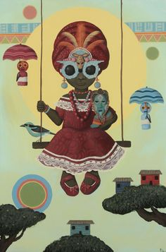 Painter Paul Lewin's new exhibition opens today at the Betti Ono Gallery in Oakland – AFROPUNK African Abstract Art, African Artwork, Canvas Art, Canvas Prints, Art Prints, Afro, African Diaspora, Black Art, Female Art