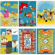 Kolekcja przepięknych dywanów dziecięcych
