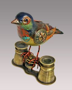 Jim Mullan's Fantastic Bird Sculptures: Old hunting decoys that have been transformed into eclectic one of a kind pieces of art.