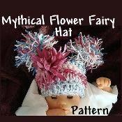 Mythical Flower Fairy Sparkler Hat - via @Craftsy
