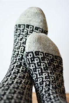 Op-Art Socken