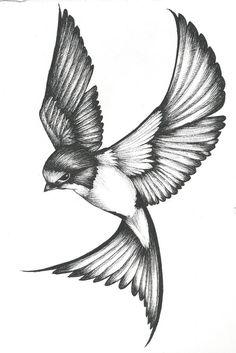 Swallow Tattoo Meaning, Swallow Tattoo Design, Tattoo Swallow, Sparrow Tattoo Meanings, Tattoo Inspiration, Tatoos, Body Art, Piercings, Tattoo Designs