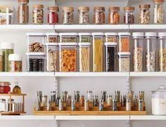 Kitchen Organization Sale - up to off Kitchen Storage & Pantry Organization Pantry Storage, Pantry Organization, Kitchen Storage, Kitchen Organizers, Organized Pantry, Storage Jars, Pantry Ideas, Kitchen Pantry Design, Kitchen Redo