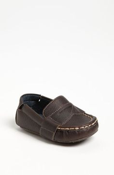 Cole Haan 'Mini Penny Loafer' Leather Slip-On (Baby) | Nordstrom