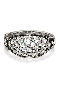 Crystal Bangle- would be pretty as a ring as well