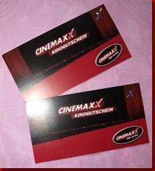 Gewinnspiel:  Ich habe für einen von euch 1x 2 Cinemaxx Kino Gutscheine