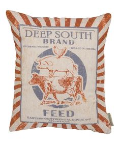 Take a look at this 'Deep South' Throw Pillow today!