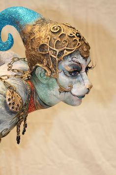 Cirque Du Soleil - the prosthetic and overall look is very unusual, very pretty…